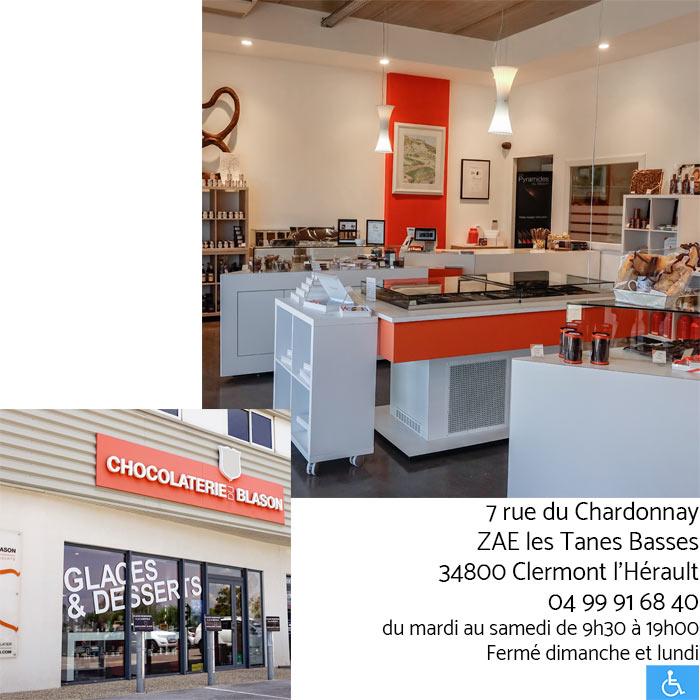 Boutique-Clermont - Chocolaterie du Blason