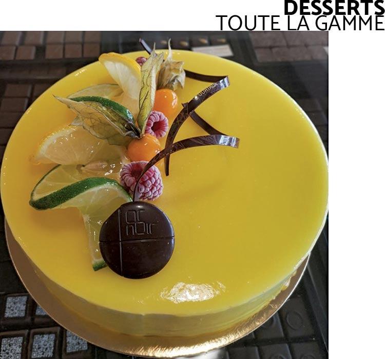 Desserts - Chocolaterie du Blason