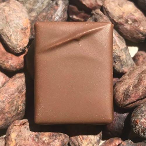 Ganache-lait-Jivara - Chocolaterie du Blason