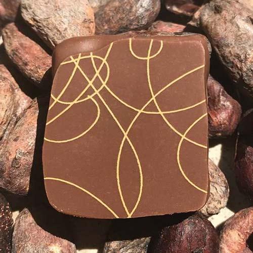 Ganache-lait-Tonka - Chocolaterie du Blason