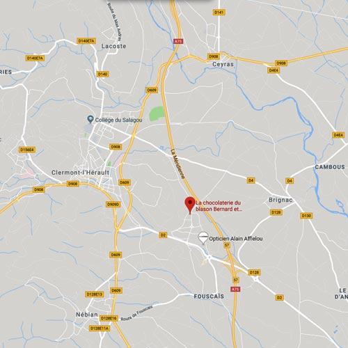 Maps-Clermont - Chocolaterie du Blason