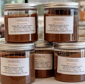 Pate-à-tartiner - Chocolaterie du Blason