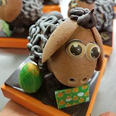 Mouton en chocolat - Chocolaterie du Blason