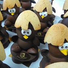 Calimero en chocolat - Chocolaterie du Blason