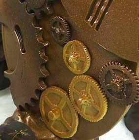 Horloge en chocolat - Chocolaterie du Blason