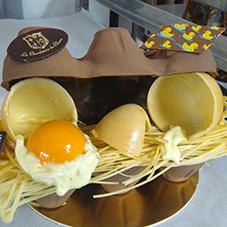 Boite oeuf en chocolat - Chocolaterie du Blason