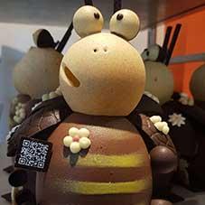 Abeille en chocolat - Chocolaterie du Blason