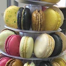 Macaron 1 - Chocolaterie du Blason